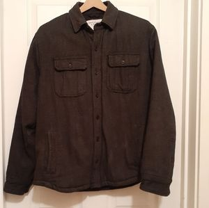 Abercrombie & Fitch Quilted Shirt Jacket - Large
